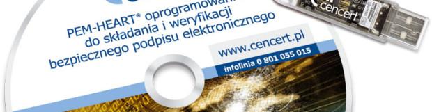 Certyfikat Cencert Zestaw Token 1 rok